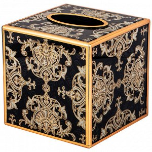 "Шкатулка для салфеток коллекция ""тадж-махал"" 13,5*13,5*13,5 см (кор=8 шт.)"