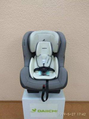 Автокресло Daiichi First7 Plus Organic Grey (цвет темно-серый)
