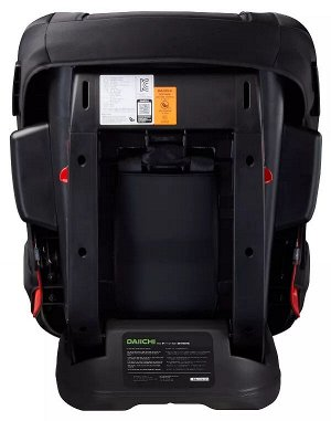 Автокресло Daiichi First7 Plus Premium Black FIX (на фото справа)