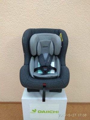 Автокресло Daiichi First7 Plus Grey FIX (цвет темно- серый)