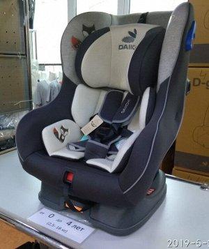 Автокресло Daiichi First7 Plus Organic Grey FIX (цвет серый)