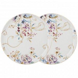 Набор из 2х тарелок обеденных 'завтрак у короля' 23,5см (кор=12наб.)