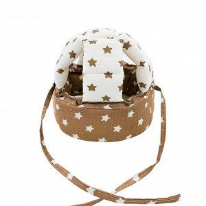 """Шлем для защиты головы """"Brown Stars / White Stars"""""""