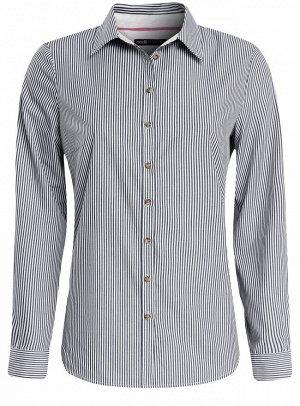 Рубашка базовая приталенная