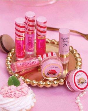 VS Масло для губ «Dessert a levres» тон 01, нежно-розовый  NEW