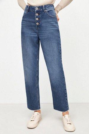 Брюки джинсовые жен. MANCHU темно-голубой