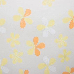 Тюль Этель «Цветы лета». ширина 250 см. высота 270 см