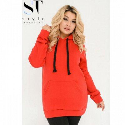 ❤《Одежда SТ-Style》Красивые наряды! Готовимся к Новому Году! — 48+: Спортивные платья и худи — Платья