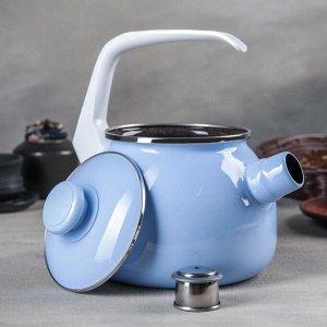 Чайник, 2,5 л, цвет голубой