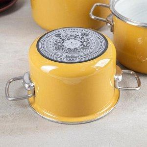 Набор посуды Mustard, 3 шт: 2 л, 3 л, 4 л