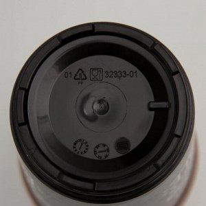 Термостакан с декором 0,4 л, цвет тёмно-бежевый, рисунок МИКС
