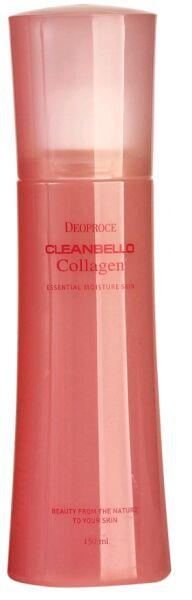 """DEOPROCE   CLEANBELLO COLLAGEN - ESSENTIAL MOISTURE SKIN  Мист для лица увлажняющий с """"Коллагеном"""" (спрей) 150 мл."""