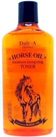 "DEOPROCE   DAILY: A HORSE OIL - MOISTURE ENERGIZING TONER  Увлажняющий тонер для лица с ""Лошадиным жиром"" 400 мл."