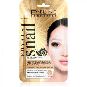EVELINE   ROYAL SNAIL  Интенсивно восстанавливающая тканевая маска Anti-Age