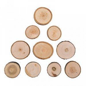 Срез дерева 3,5см набор 10шт