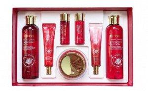 Набор антивозрастных средств с экстрактом граната Whitening&Anti-Wrinkle Pomegranate 5 set