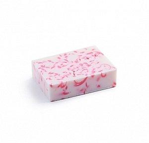 Десерт из роз (с чудесным ароматом розы на фоне мандарина, ванили и личи),  85 ± 5 гр