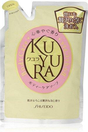 SHISEIDO Kuyura Body Care - расслабляющий-антистресс гель для душа в рефиле