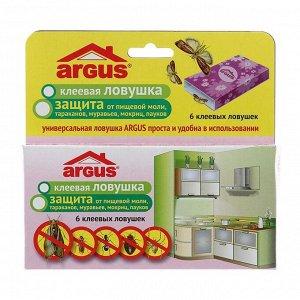 """Клеевая ловушка от насекомых """"Argus"""", набор 6 шт"""