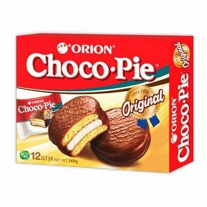 Пирожное Чокопай Orion Choco Pie в глазури 12 шт*30 г