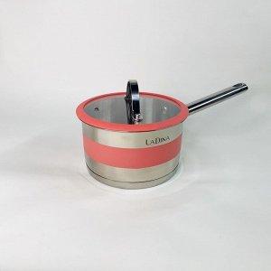 Ковш с силиконовыми кольцами Victoria 1,6 л
