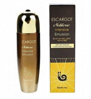 Интенсивная восстанавливающая эмульсия с экстрактом  королевской улитки Escargot Noblesse Intensive Emulsion