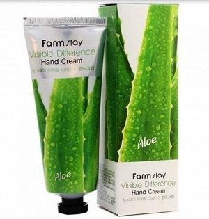 Крем для рук с алоэ вера Visible Difference Aloe Vera Hand Cream