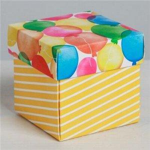 Коробка складная мини 6,5х6,5х6,5см