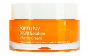 Оживляющий крем с витаминами  Dr.V8 Solution Vitamin Cream