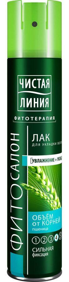 Лак для укладки волос Чистая Линия 200мл