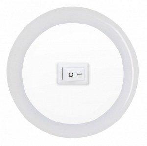 Ночник сд NLE 04-LW-S белый с выкл 230В IN HOME