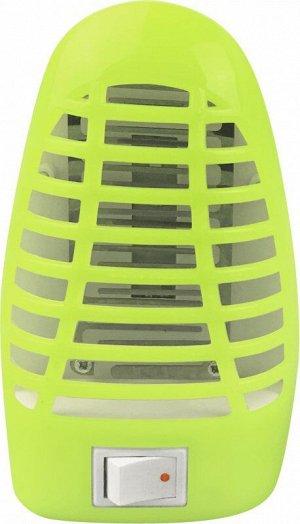 Ночник сд москитный NLM 01-MG зеленый с выкл 230В IN HOME