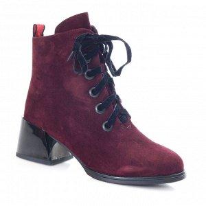 Ботинки Страна производитель: Китай Размер женской обуви x: 35 Полнота обуви: Тип «F» или «Fx» Вид обуви: Ботинки Сезон: Зима Материал верха: Замша Материал подкладки: Натуральный мех Каблук/Подошва: