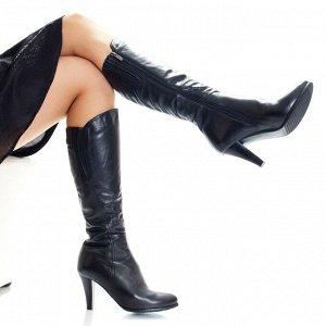 Сапоги Страна производитель: Китай Полнота обуви: Тип «F» или «Fx» Сезон: Зима Вид обуви: Сапоги Материал верха: Натуральная кожа Материал подкладки: Натуральный мех Каблук/Подошва: Каблук Высота кабл