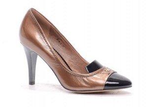 Туфли Страна производитель: Китай Полнота обуви: Тип «F» или «Fx» Сезон: Весна/осень Тип носка: Закрытый Форма мыска/носка: Заостренный Каблук/Подошва: Каблук Высота каблука (см): 8,5 Материал верха: