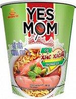 Yes mom стакан креветка, сосиска внутри