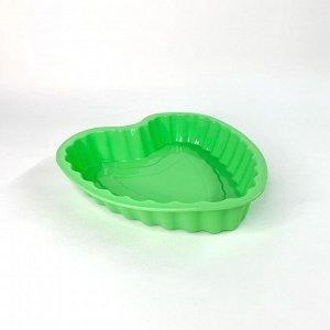 Форма для выпечки кексов в форме сердца