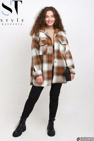 Пальто-рубашка 65920