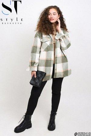 Пальто-рубашка 65919