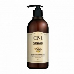 Шампунь с экстрактом имбиря и меда Esthetic House CP-1 Ginger Purifying Shampoo, 500ml