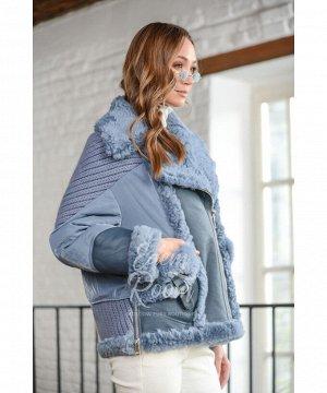 Куртка - пуховик с мехом тосканы Артикул: 29652-65-GL-BR