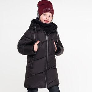 90577/1 (черный) Пальто для мальчика