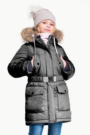90558/1 (черный) Куртка для девочки