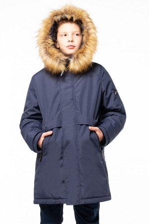 90805/1 (темно-синий) Пальто для мальчика