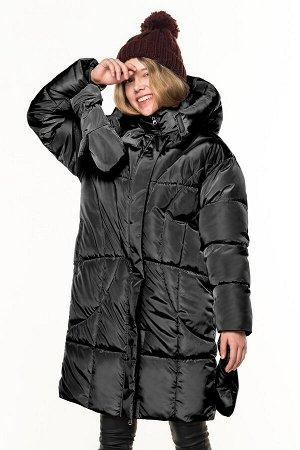 80836/2 (черный) Пальто для девочки