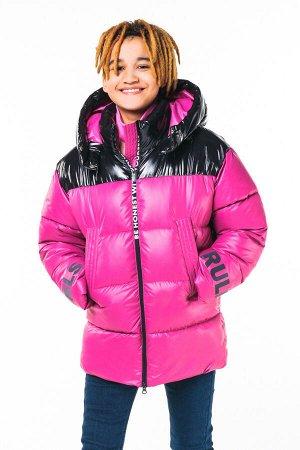 90791/1 (розовый) Куртка для девочки