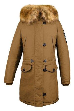 70705/2 (зеленый) Куртка-парка для девочки