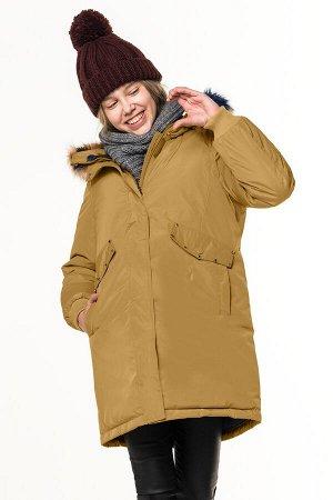 80845/1 (коричневый) Куртка для девочки