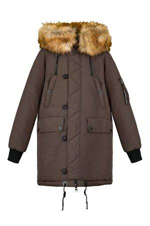 70715/1 (хаки) Куртка-парка для мальчика