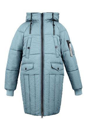 70695/1 (голубой) Пальто для девочки